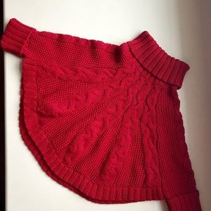 Carter's Toddler Holiday Poncho Sweater